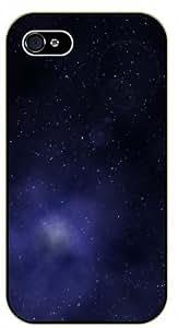 iPhone 5 / 5s Deep spce stars, gas cluds- black plastic case / Space, Stars, Fantasy