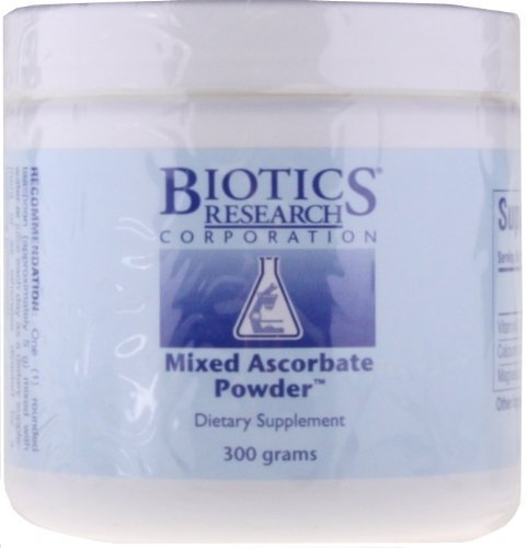Biotics Research, Mixed Ascorbate Powder 60 Servings