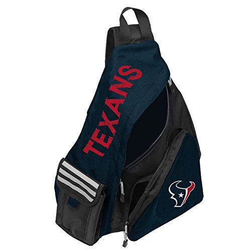 Officially Licensed NFL Houston Texans Leadoff Slingbag
