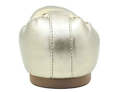 Gold Greatonu Donna Gold Ballerine Ballerine Ballerine Greatonu Greatonu Donna 4RFIFv