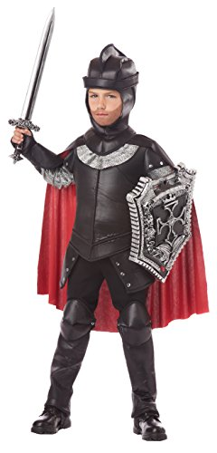 Medieval Costumes Child Knight Dragon (California Costumes The Black Knight Child Costume,)