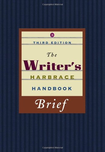 The Writer's Harbrace Handbook, Brief Edition (Available Titles CengageNOW)