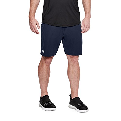Under Armour UA Raid 2.0 Team LG Midnight Navy (Under Armour Mens Qualifier 9 Woven Shorts)