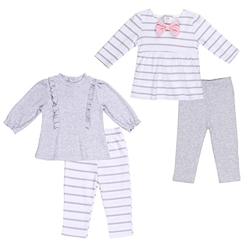 Twin Baby Outfit Girls' Clothing Set 9-12 Month