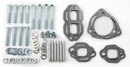 JEGS 30100 Rams Horn Style Exhaust Manifolds