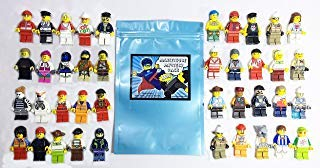 Lego Lot Of 10 Minifigures Random Lot Star Wars, Ninjago & More (US Seller)