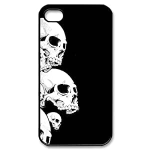 WKSHOP Hard Shell Diy Iphone 4/4s hard Case Of Skull ,Customized Bumper Plastic case wk207191