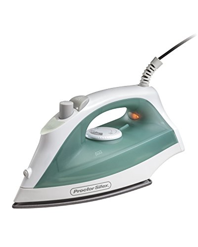 Proctor Silex 17291R Durable Iron with Nonstick Soleplate and Adjustable Steam by Proctor Silex
