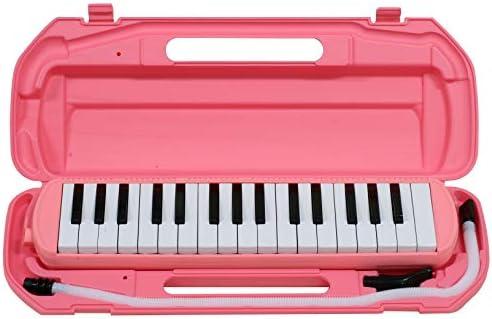 [해외]キクタニ 건반 하 모니카 32 키 핑크 MM-32 PINK / Kiktani Keyboard Harmonica 32 Key Pink MM-32 PINK