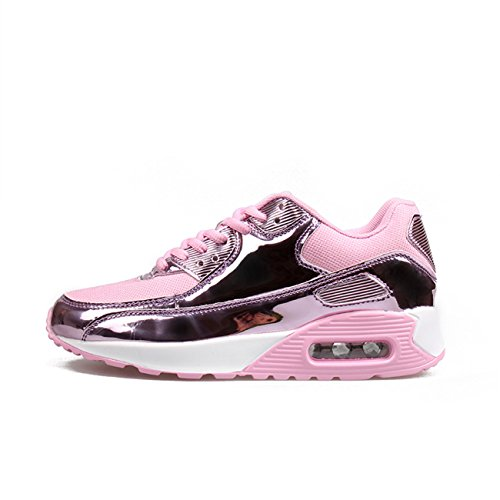 Casual Unisex Sports Running Sneakers Men Cushion Air XINGLAN Women Breathable Athletic Shoes Pink Couple PwIgHqWWC