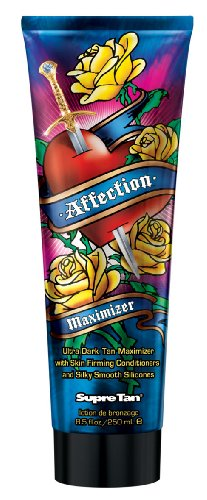 2011 Supre AFFECTION MAXIMIZER Ultra Dark Tanning Lotion 8.5 oz.