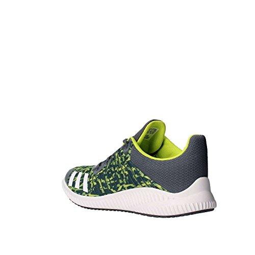 adidas Fortarun K, Zapatillas de Deporte Unisex Niños, Varios Colores (Onix/Ftwbla/Seamso), 38 EU
