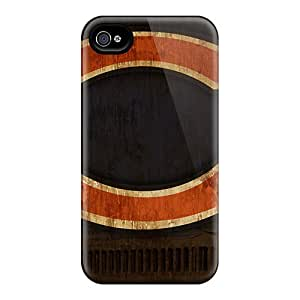 InesWeldon Iphone 4/4s Scratch Resistant Hard Phone Case Allow Personal Design Fashion Chicago Bears Skin [FFd7443fZfh]