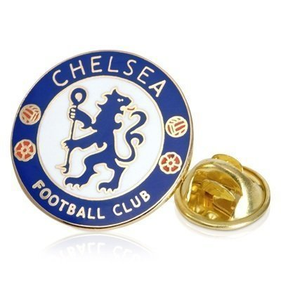 CHELSEA Official Merchandise Football Club Sports Accessories, Gifts & Stationary Items. (Crest Pin Badge)