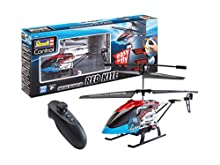 Revell Control 23834 RC helicóptero Motion Heli Red Kite, brigamo 068 – Helicopter, Rojo/Azul, Longitud: Aprox. 25 cm
