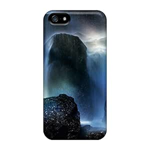 Hot Rainbow At The Bottom Of A Waterfall First Grade Phone Cases For Case Samsung Galaxy S4 I9500 Cover Cases Covers