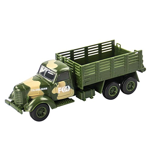 Children's Military Series Alloy Car Toy Tank Medical Vehicle Armored Car Battleplane Cross Country Vehicle Transporter 1PCS (Transporter) - Cross Country Vehicle