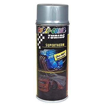 Duplicolor 191770 Spray de Pintura plástica, Color Plata, 400 ml, 800°C 6: Amazon.es: Coche y moto