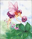 Pansy Secret Flower Fairy Paper Tole 3D Kit 8x10