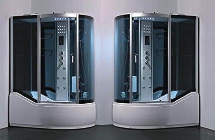 Box idromassaggio con vasca 150x90 cabina multifunzione colonna
