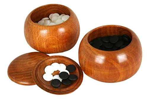 Melamine Single Go Game Convex Stones and Wild Jujube Bowls (Game Stones Go)