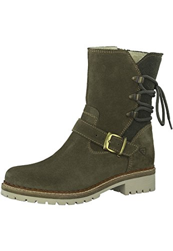 26476 29 Tamaris Booties 1 Olive Womens 0qTxw5xaP