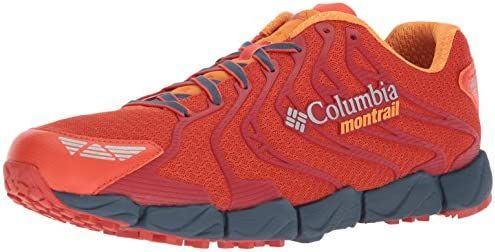 Columbia Men s Fluidflex F.K.T. II Trail Running Shoe, hot Pepper, Orange Blast, 12 D US