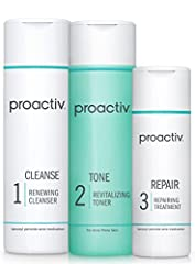 The Proactiv 3-Step System helps treat and prevent acne breakouts with proven acne-fighting ingredients. The Renewing Cleanser and Repairing Treatment contain benzoyl peroxide, a proven acne medicine known to kill and prevent acne bacteria. T...