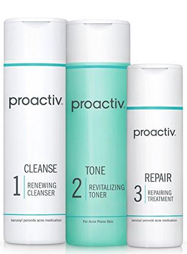 Proactiv Solution 3-Step Acne Treatment System (60 Day Original Acne Kit) (Best Skin Care Regimen For Acne Prone Skin)