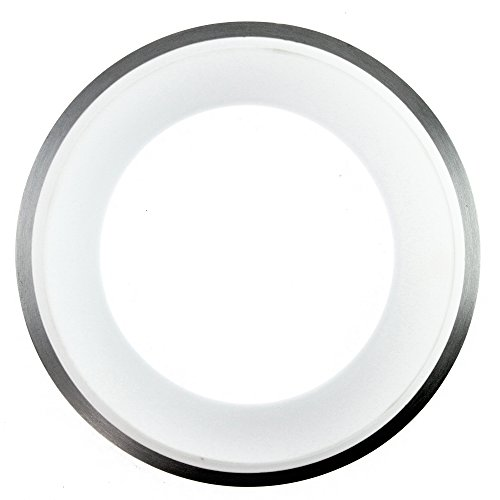 Philips Lightolier D4A03 Decorative Angled Glass And Satin Ring For 4