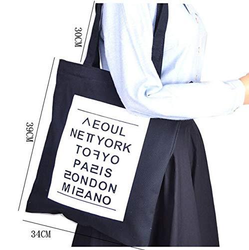 Redyiger noir Sac Grand À Fourre tout Pour Bandoulière Fille Format Élégant rvwrqda