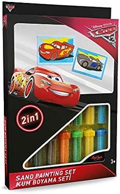 Cars 3 Kum Boyama Seti Ds 30 Komisyon Amazon Com Tr