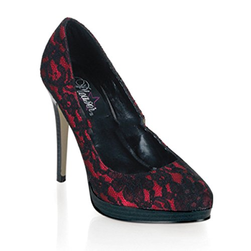 Donna Col Tacco Couture Scarpe Pinup qHwBIEv