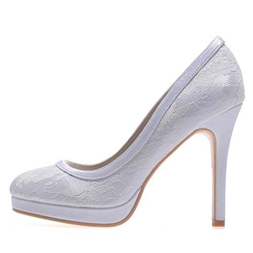 In 08 Libero Il Bianco Da Yc Alti Sposa Tempo Donna Per Tacchi L Abbigliamento E6915 Outdoor Seta nzaHq1
