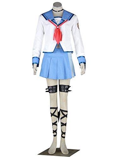 Dazcos Angel Beats Yui Kids or Women's Cosplay Costume (Women (Angel Beats Cosplay Costumes)