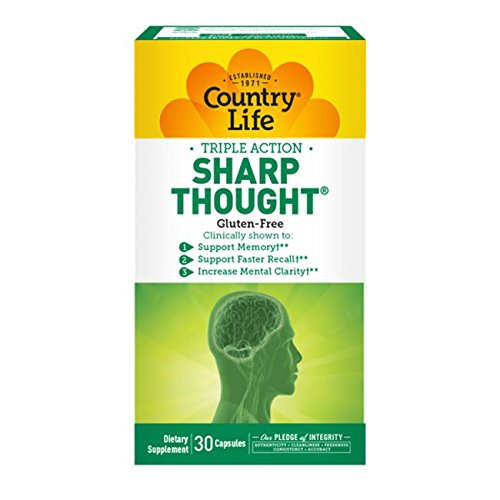 Country Life Sharpthought, 30-Capsule