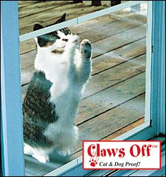 Claws Off Patio Screen Door Protector