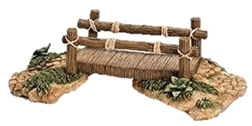 Fontanini Wood Bridge Building Italian Nativity Village Figurine