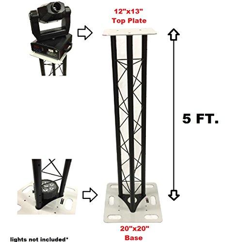 Meter Triangle Stage/Club DJ Lighting Truss Tower Totem ()