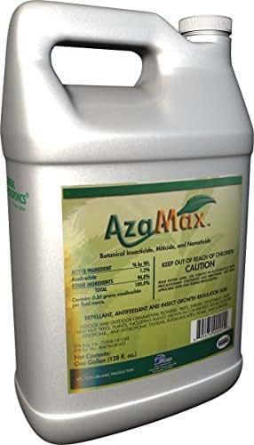 General Hydroponics GH2003, Azamax Antifeedant and Insect Growth Regulator, 1-Gallon
