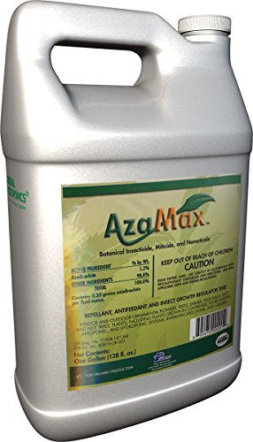 General Hydroponics GH2003, Azamax Antifeedant and Insect Growth Regulator, 1-Gallon by Hydrofarm