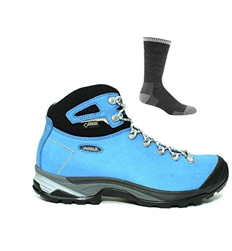Socks Blue Women's W GV Boot Black Asolo Thyrus Sea UAZ778
