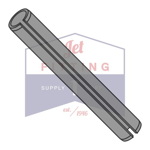 M2 x 4mm Roll (Spring) Pins / Steel / Plain (Thermal Black) / ISO 8752 (QUANTITY: 20,000 ()
