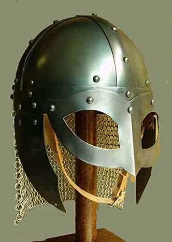 Leather Inlet /& Fitting Zd Standard Gold and Black Queen Brass German Prussian Pickelhaube Spiked Helmet Incl
