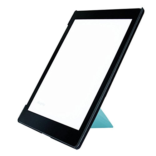 Price comparison product image Dreamyth Smart Ultra Slim Magnetic Case Cover Stand For kobo aura one 7.8inch (Sky Blue)