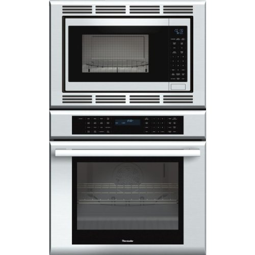 Thermador MEDMC301JS Combo Masterpiece Oven plus Convection Microwave, 30 in. 2 Xt Racks (Wall Oven Combo Microwave)