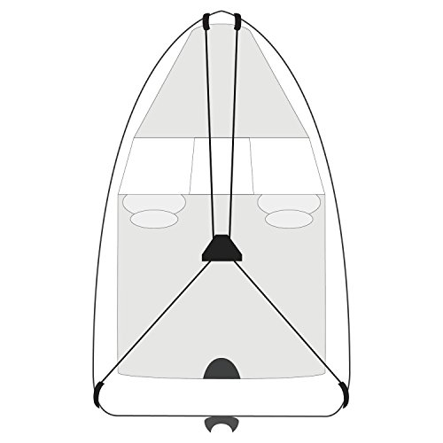 Budge BA-39 Black 27' Boat Cover Support System