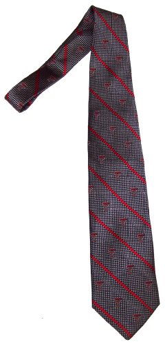 Texas Silk (Merge Left College Team Ties- 100% Silk- TEXAS TECH)