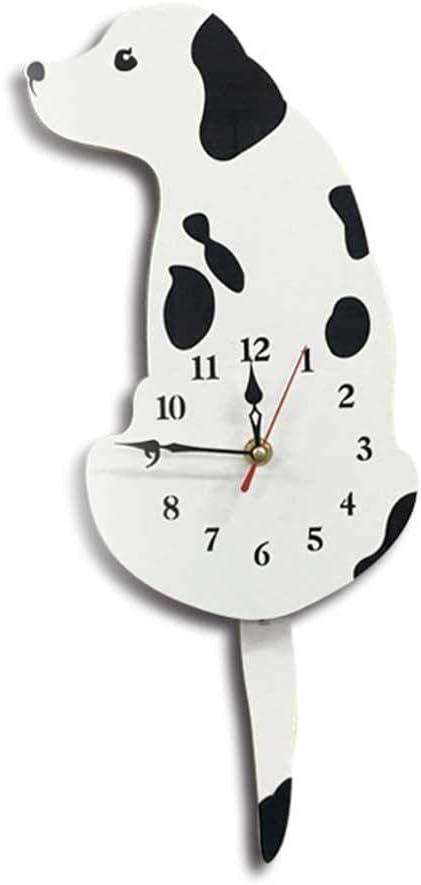 B DIY Kinderuhr Uhr ohne Tickger/äusche Holzwanduhr Wanddeko f/ür Kinderzimmer Wohnzimmer Schlafzimmer Lautlos Uhrwerk EXQULEG Kinder Wanduhr