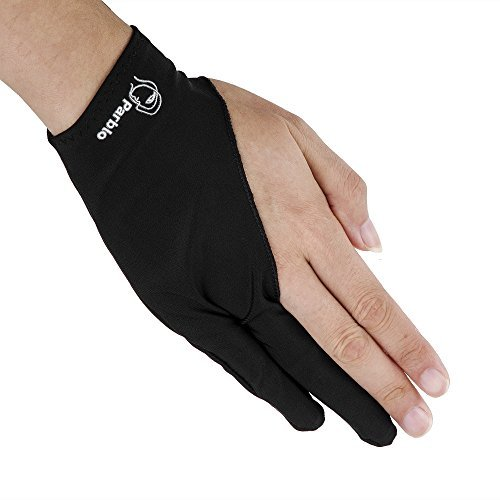 Parblo PR-01 Two-Finger Glove for Graphics Drawing Tablet Light Box Tracing Light (Black Light Sensitive Paint)